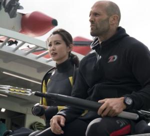 En eaux troubles : Jason Statham porte une IWC Aquatimer