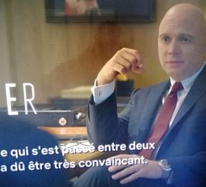 Mindhunter saison 2 : Michael Cerveris porte une Rolex Explorer 2 réf 216570