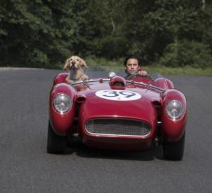 "The art of racing in the rain : Mila Ventimiglia porte une Omega Speedmaster ""reduced"""