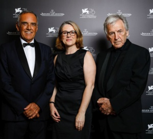 Le Jaeger-LeCoultre Glory to the Filmmaker 2019 revient à Costa-Gavras
