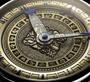 De Bethune : le IXème inframonde Maya… Montre ésotérique