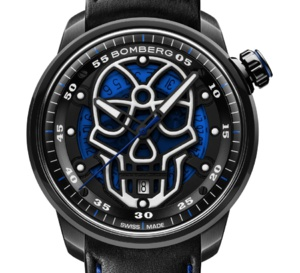 Bomberg BB-01 Automatic Skull : montre pour bad boy urbain