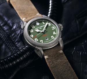 Cuervo y sobrinos : Vuelo Domingo Rosillo, une belle montre de pilote