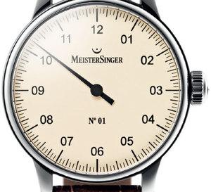 Meistersinger : Numéro 1, Périgraph et Unomatik s'affichent cette année sur un cadran crème