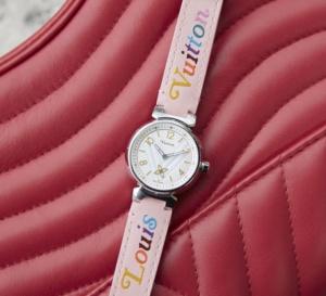 Louis Vuitton Tambour New Wave : cadran matelassé en hommage à la maroquinerie !