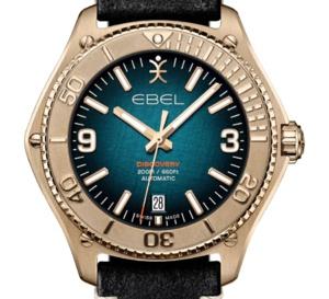 "Ebel Discovery Bronze : en mode ""bronzo"""