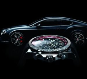 Breitling Bentley GMT « V8 » : hommage à la nouvelle Bentley Continental GT V8
