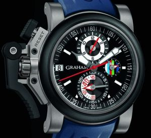 Graham London Chronofighter Oversize Referee : la montre des arbitres du Tournoi des 6 nations 2012