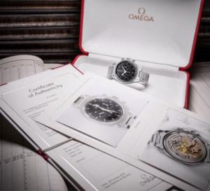 Omega : lancement d'un nouveau certificat d'authenticité pour ses montres vintage