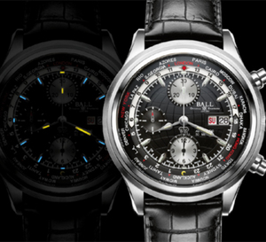 Ball Watch Company Trainmaster Worldtime Chronograph : montre idéale en déplacement