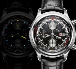 Ball Watch Company Trainmaster Worldtime Chronograph : montre idéale en déplacement