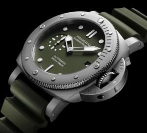 Panerai : une Submersible Verde Militare vendue exclusivement en ligne