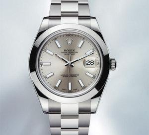 Rolex Oyster Perpetual Datejust II : tout acier et... tout simplement belle
