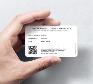 My IWC : extension de la garantie de 2 à 8 ans !