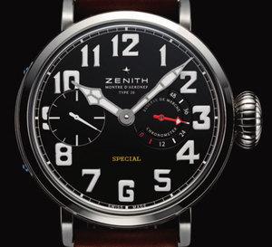 Montre d'Aéronef historique Zenith Type 20 : la démesure du temps