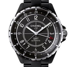 Chanel J12 GMT 41 mm en céramique noire mate ou Chromatic : plus masculine