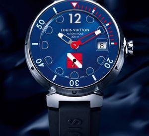 Louis Vuitton Tambour Diving II Bleu : la plongée selon Louis Vuitton