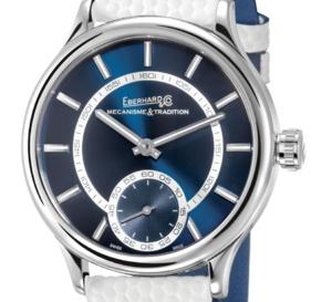 Eberhard & Co : un beau cadran bleu pour sa Traversetolo