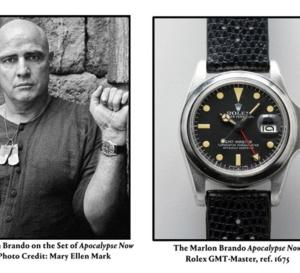 New-York : mise en vente de la GMT-Master de Marlon Brando
