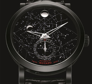 Movado Red Label Skymap : montre stellaire…