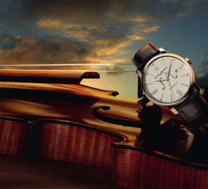 Baume et Mercier fête les 25 ans d' « Un violon sur le sable » avec une série limitée de 25 montres Classima
