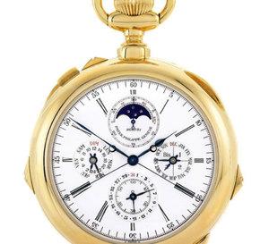 Sotheby's met en vente la montre Rolex Day-Date en or de Graham Green (Genève, le 15 mai 2012)