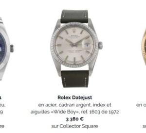 Collector Square : focus sur la Datejust de Rolex