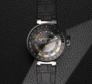 Louis Vuitton Tambour Moon Dual Time (quartz) : pour hommes et femmes