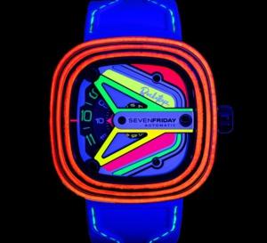 SevenFriday x RocketBiz : l'heure haute en couleur