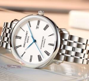 Emile Chouriet Lac Léman Classic Chronometer : un grand classique d'entrée de gamme