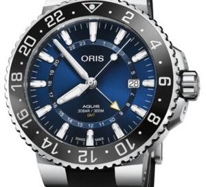 Oris Aquis GMT Date : pour voyager avec sa montre de plongée