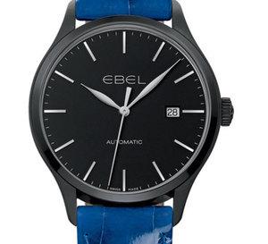 Ebel 100 : édition boitier en PVD noir et bracelets de couleur