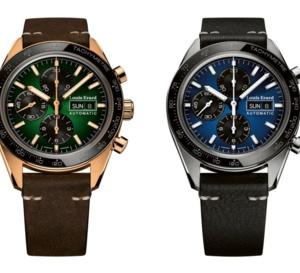Louis Erard La Sportive : un chrono jour-date efficace et simple en titane ou bronze