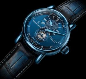 Chronoswiss Regulator Classic Blue Steel : une montre vraiment bleue