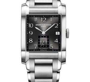 Baume & Mercier Hampton : un nouveau bracelet acier