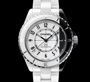 "Chanel J12 Paradoxe : la ""dalmatienne"""