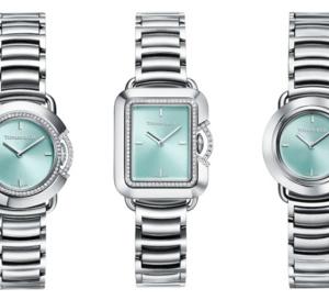 Tiffany & Co : nouvelle collection de montres en acier et diamants Tiffany T pour femmes