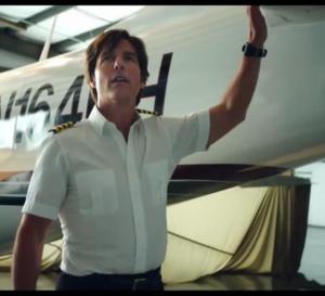 Barry Seal American Traffic : Tom Cruise porte une montre Nemesis