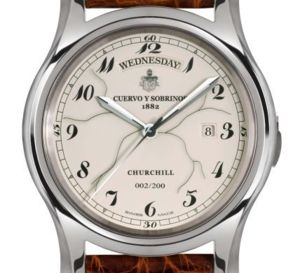 Cuervo y Sobrinos Robusta Day-Date Churchill