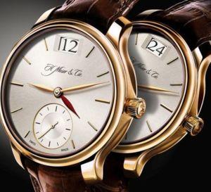 Moser Meridian Dual Time : une voyageuse élégante