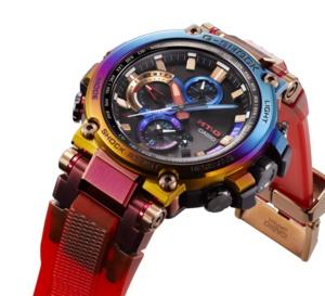 G-Shock MTG : un boitier plaqué ionique pour orage volcanique !