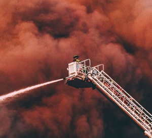 La grande échelle des pompiers fut inventée par un horloger !