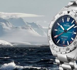 Delma OceanMaster Antarctica : hommage à l'Antarctique