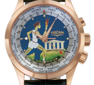 Vulcain Cricket Aviator GMT « Hephaïstos » : hommage aux Jeux Olympiques
