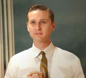 Mad Men : Aaron Stanton porte une Hamilton Pacer