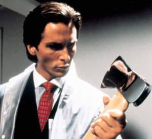 American Psycho : Christian Bale porte une Seiko SNJX90