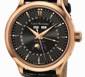 Bucherer Manero MoonPhase : calendrier complet
