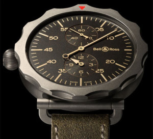 Bell&Ross Vintage WW2 Régulateur Héritage : montre d'observation