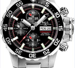 Ball Watch Engineer Hydrocarbon NEDU : montre de plongée avec valve à hélium dans la couronne