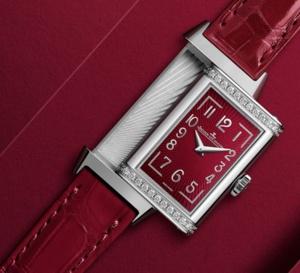 Jaeger-LeCoultre Reverso One : cadran lie-de-vin et diamants